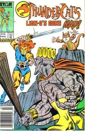 Thunder Cats Comic on Thundercats  Marvel Comics   Star Comics   9   Lion O S Gone Mad  On