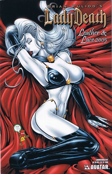 lady death leather and lace 2005 1f commemorative