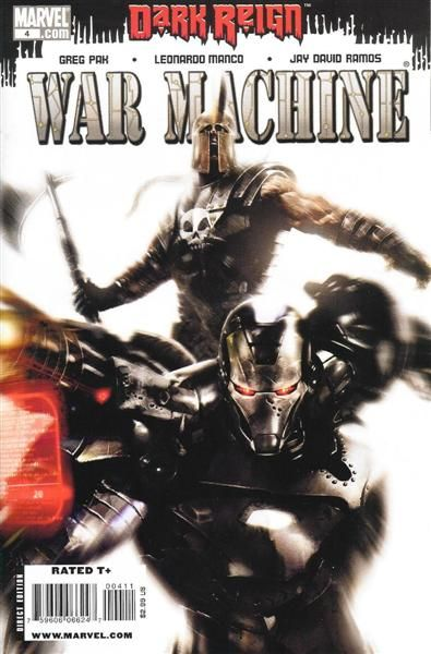 Comic Collector Connect » Comic Database » War Machine, Vol. 2 » #4