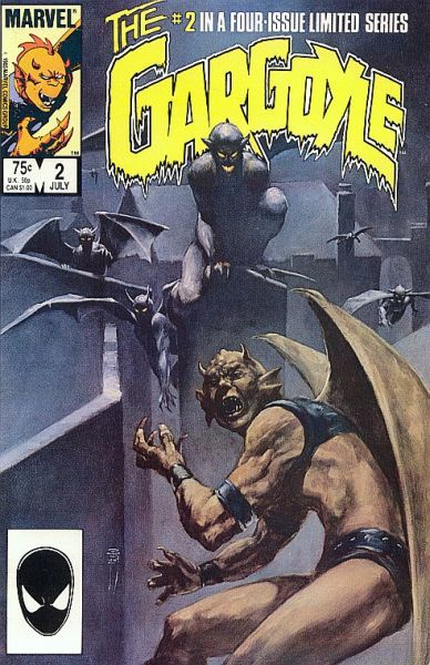 Gargoyles,slave labor graphics (slg),,clan-building, chapter seven,comic database,comic collector
