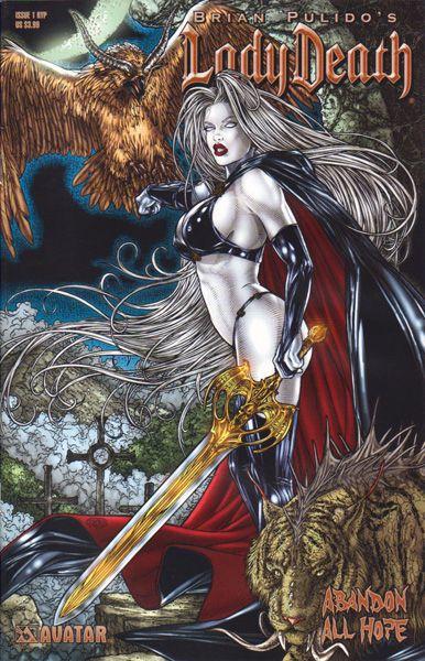 lady death abandon all hope 1b on collectorzcom core comics