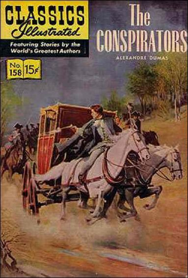 Illustrated Book Cover Generator : Classics illustrated b the conspirators on