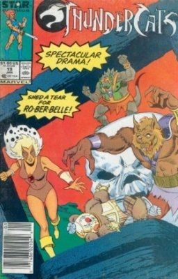 Thundercats Comic on Thundercats  Marvel Comics   Star Comics   19 On Comic Collector