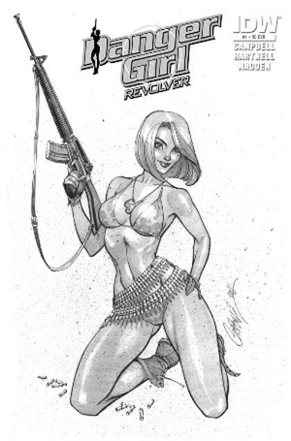 Think, that J scott campbell danger girl revolver