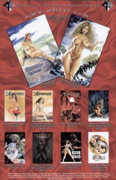 Cavewoman: Budd's Beauties & Beasts #2B on Collectorz.com ...