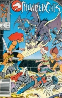 Thunder Cats Comics on Thundercats  Marvel Comics   Star Comics   17 On Comic Collector