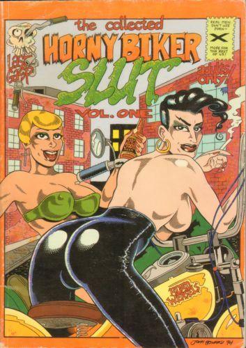 Weib Just horny biker slut comics