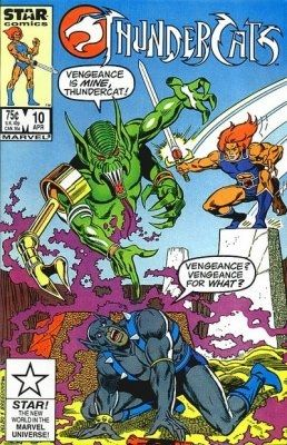 Thundercats Comics on Thundercats  Marvel Comics   Star Comics   10 On Comic Collector