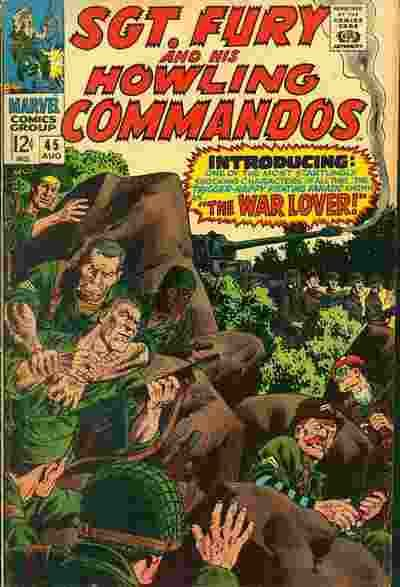 Sgt. Fury and His Howling Commandos #45