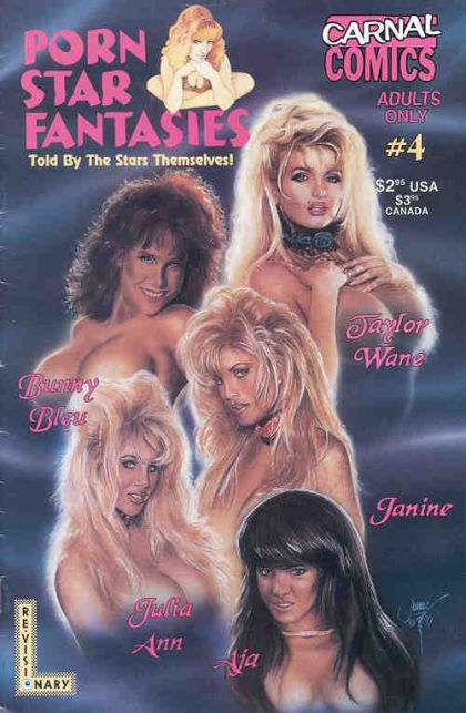 Carnal Comics Presents Porn Star Fantasies #4