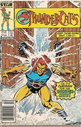 Thunder Cats Comics on Comic Database    Thundercats  Marvel Comics   Star Comics      8