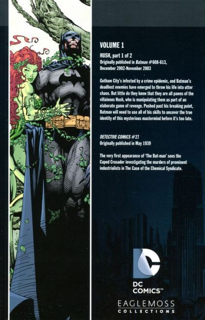 BATMAN HUSH GRAPHIC NOVEL PAPERBACK COMPLETE EDITION DC COMICS 2009