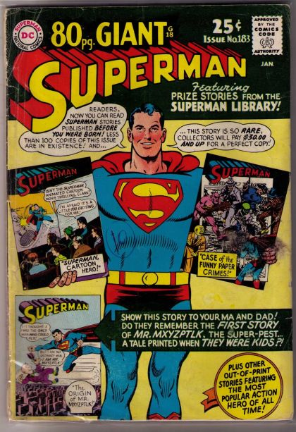 Comic Collector Connect » Comic Database » Superman, Vol. 1 ...