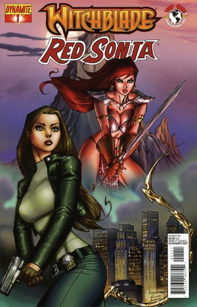 Red Sonja: Witchblade #1A