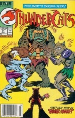 Thundercats Comics Online on Thundercats  Marvel Comics   Star Comics   21 On Comic Collector