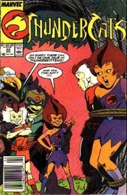 Thundercats Comic on Thundercats  Marvel Comics   Star Comics   22 On Comic Collector