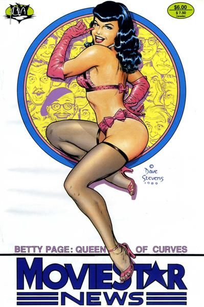 Movie Star News, Vol. 1: Betty Page, The Queen of Curves #1