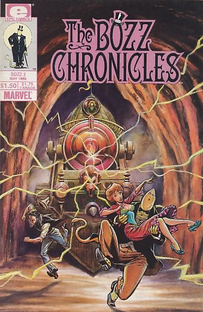 The Bozz Chronicles #3 - The Tomorrow Man on Collectorz ...