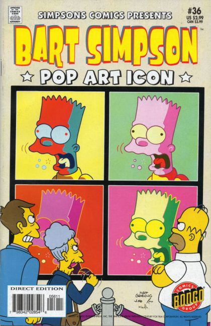 bart simpson art