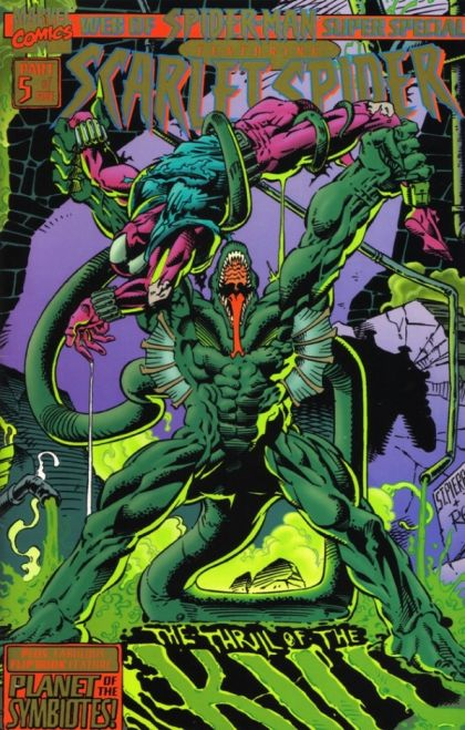 Web of Spider-Man Super Special #1 - Planet of the ...