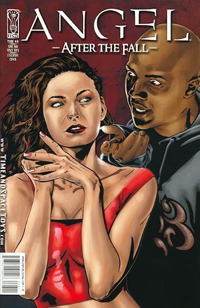 Angel: After the Fall #8C - Angel: After the Fall, Part 3 ...  Gwen Raiden Comic