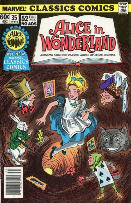 alice in wonderland book report