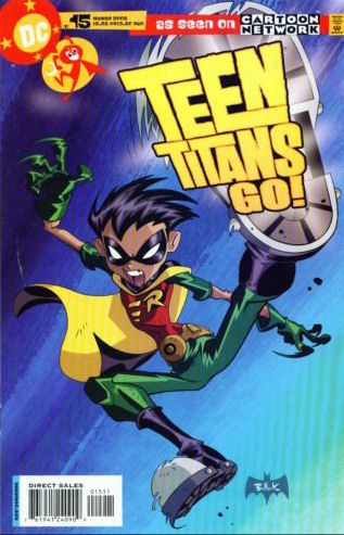Teen Titans Go #15 Pop Quiz. DC Comics. Mar 2005. Modern Age / USA / English