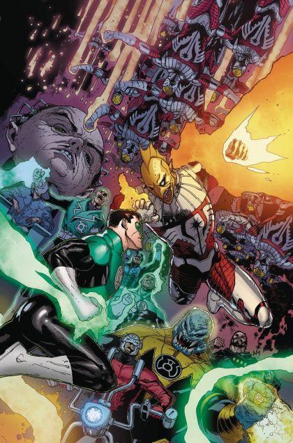 Hal Jordan and the Green Lantern Corps #48A