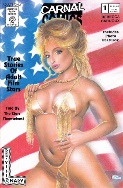 True Stories of Adult Film Stars #1 Rebecca Bardoux