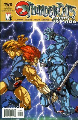 Thundercats Wildstorm on Thundercats Enemy S Pride 2 Dc Comics Wildstorm Sep 2004 Usa English