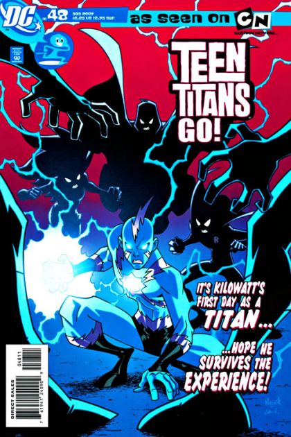 Teen Titans Go #48 Wrong Place, Wrong Time. DC Comics. Dec 2007