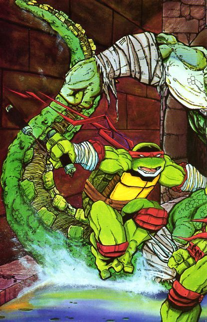 » Comic Database » Teenage Mutant Ninja Turtles, Vol. 1 » #45