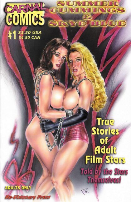 True Stories of Adult Film Stars #1 Summer Cummings & Skye Blue