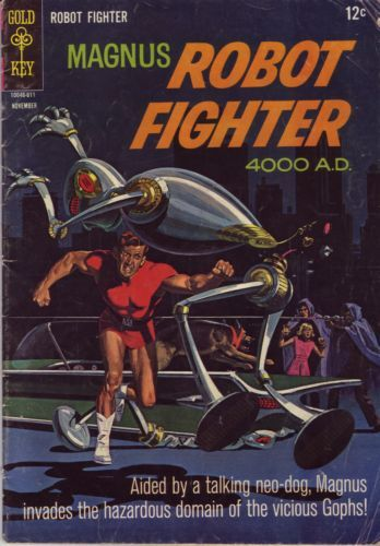 Magnus ROBOT FIGHTER 4000 AD Vol 1 DARK HORSE HC 2004 First RUSS MANNING Rare!