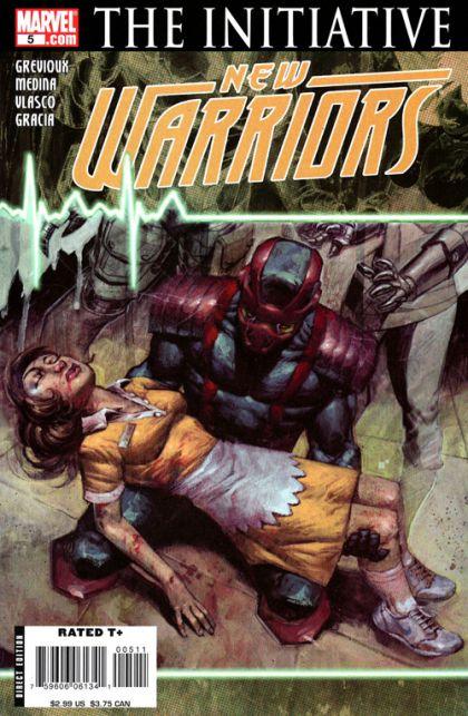 The New Warriors, Vol. 4 #5 The Initiative - Defiant, Part Five