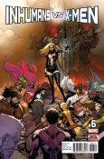 Inhumans vs. X-Men #6A