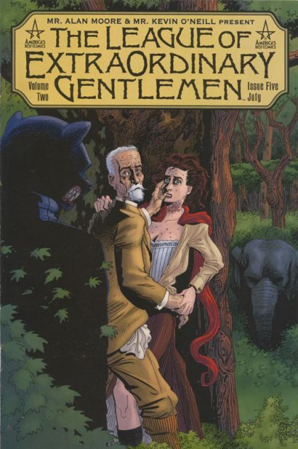 annotations to league of extraordinary gentlemen volume - HD 1046×1600