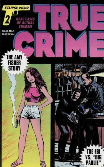 Modern Book Cover Generator : True crime comics on collectorz core